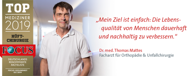TOP MEDIZINER 2020: Dr. Thomas Mattes